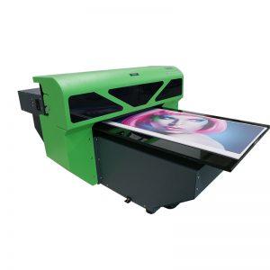 1800 A2 koko uusi muotoilu tekstiilialustalle lasinen tulostinpainokone WER-D4880UV