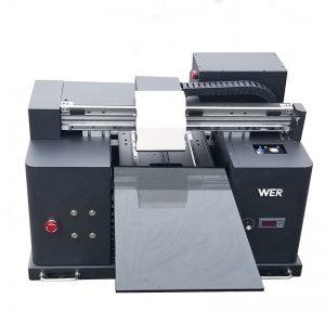 2017 halpa A4-kokoinen työpöydän tabletti UV-johdolla litteä digitaalinen tulostin WER-E1080UV