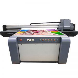 3D-tehosteinen UV-tasotulostin, keraamiset kirjoittimet, laatat painokone Kiinaan WER-EF1310UV