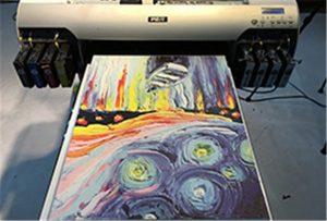 Canvas-näyte A2 UV -kirjoittimesta WER-EH4880UV
