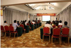 Ryhmäkokous Wanxuan Garden -hotellissa, 2015