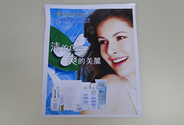 PVC-juliste, joka on painettu 3,2 metrin (10 jalat) eco-liuotinkirjoitin WER-ES3201