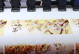 Itsekiinnittyvä vinyyli, jota painaa 1,8 m (6 jalkaa) eco-liuotin-tulostin WER-ES1802