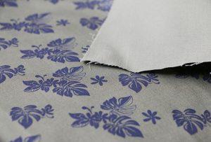 Tekstiilien tulostaminen näyte 2 digitaalisella tekstiilikirjoittimella WER-EP7880T