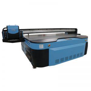 2,5m * 1,3m tulostuskoko 3D-kohokuvioitu Industrial Led UV-tulostin metalleille, puulle, lasille, keraamisille, aluksella, akryylille, pvc-,